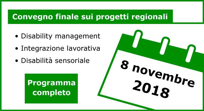 Programma completo convegno 8 novembre